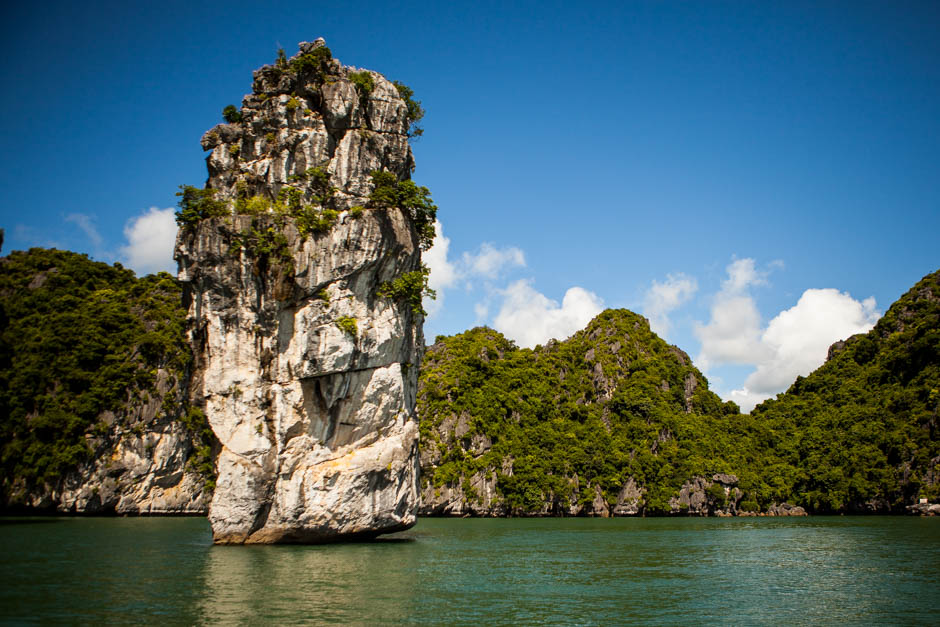 Halong Bay Vietnam photo print Adventure of Two Travel Blog