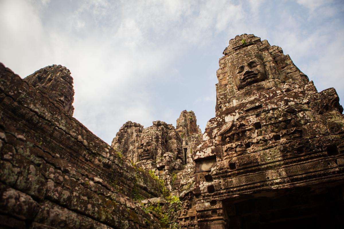Angkor Wat Faces